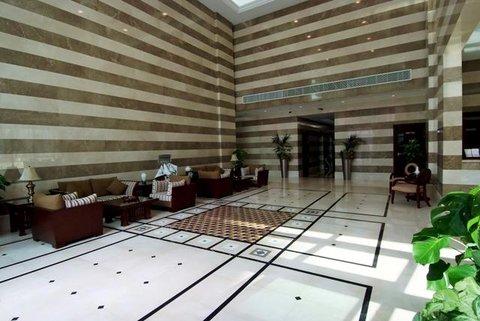 Marina Hotel Apartments - Lobby view