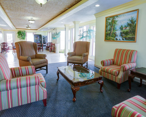 Americas Best Value Inn San Angelo - TXLobby Seating