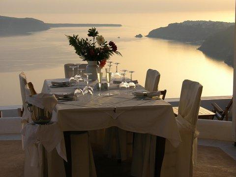 Pantheon Deluxe Villas - Restaurant