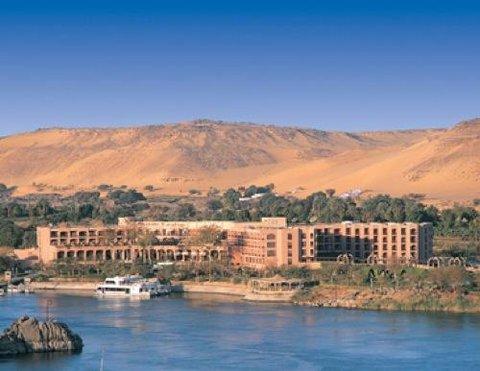 Pyramisa Isis Island Aswan Resort - Exterior view