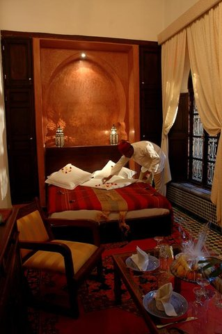 Riad Maison Bleue and Spa - Guest room
