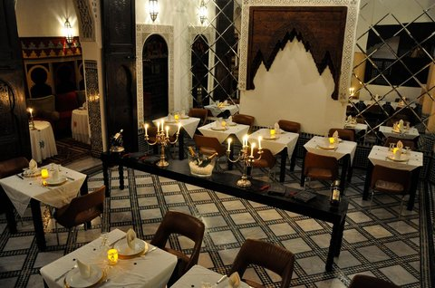 Riad Maison Bleue and Spa - Restaurant