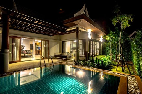 Pimann Buri Luxury Pool Villas - Lobby view