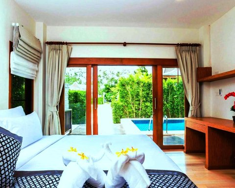 Pimann Buri Luxury Pool Villas - Guest room