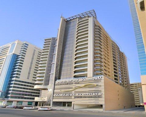 المجاز للشقق الفندقية - Exterior view