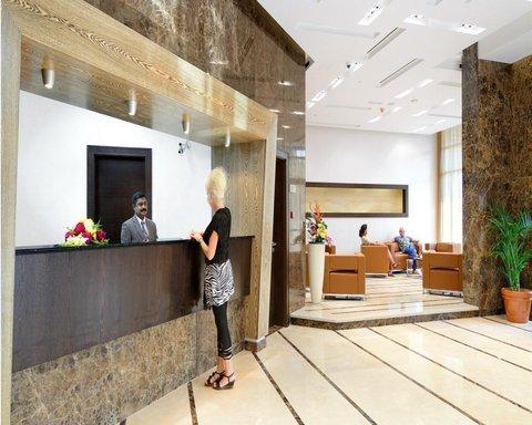 المجاز للشقق الفندقية - Lobby view