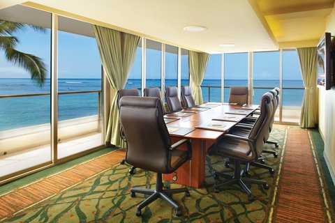 Outrigger Reef on the Beach - Outrigger Reef Waikiki Beach Resort - interior - meetings boardroom 1