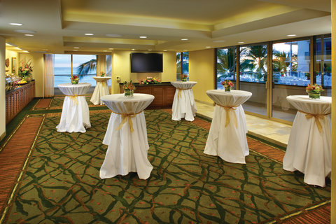 Outrigger Reef on the Beach - Outrigger Reef Waikiki Beach Resort - interior - meetings voyager room