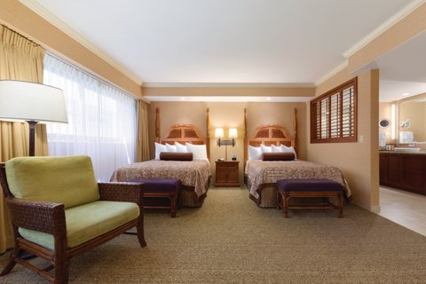 Outrigger Reef on the Beach - Outrigger Reef Waikiki Beach Resort - interior - ocean tower moderate double double