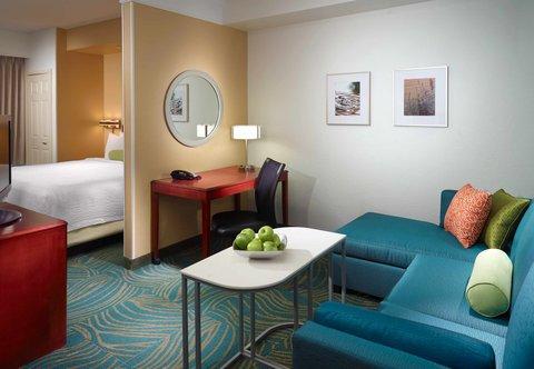 SpringHill Suites Atlanta Buckhead - King Suite - Living Area