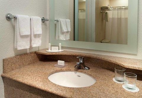 SpringHill Suites Atlanta Buckhead - Suite Bathroom Vanity