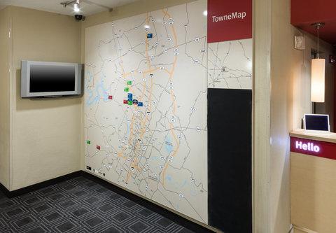 TownePlace Suites Austin Northwest - TowneMap