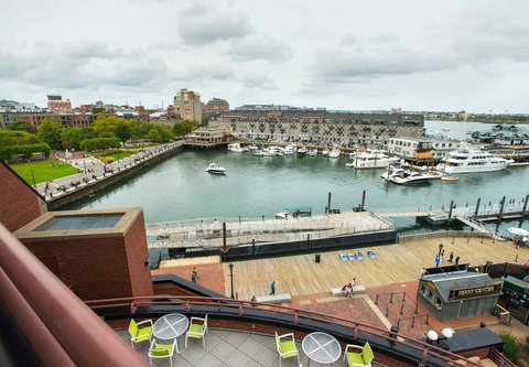 Marriott Long Wharf Hotel - Guest Room View