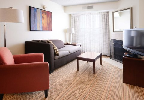 Residence Inn Dallas Richardson - Two-Bedroom Suite - Living Area