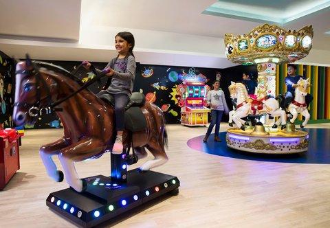 JW Marriott Mussoorie Walnut Grove Resort & Spa - The Den   Play Area