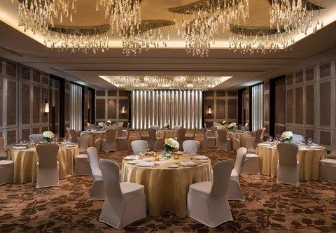 JW Marriott Mussoorie Walnut Grove Resort & Spa - Grand Orchard Ballroom   Banquet Setup