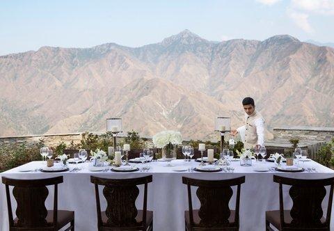 JW Marriott Mussoorie Walnut Grove Resort & Spa - Outdoor Private Dining Event
