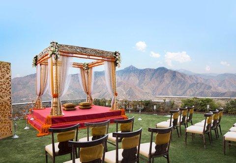 JW Marriott Mussoorie Walnut Grove Resort & Spa - Outdoor Wedding Ceremony Setup