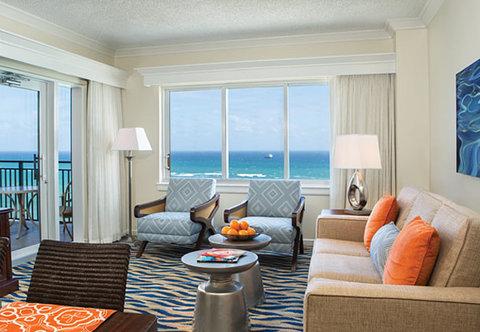 Marriott's BeachPlace Towers - Villa Living Room