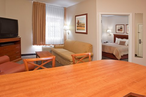 Candlewood Suites POLARIS - Single Guest Bed Room