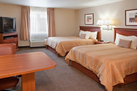 Candlewood Suites POLARIS - Double Guest Bed Room