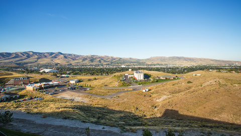 Holiday Inn Express & Suites Pocatello - Beautiful View from Holiday Inn Express