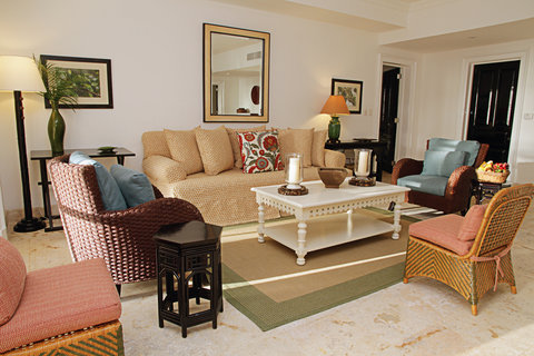 Tortuga Bay Hotel - Living Room - Two Bedrooms Suite