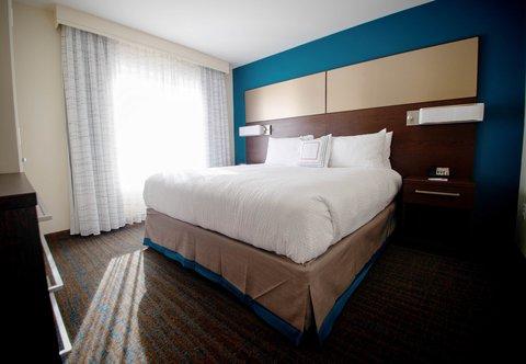 Residence Inn Omaha West - Suite - Bedroom