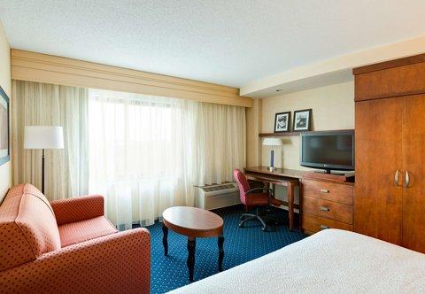 Courtyard Gaithersburg Washingtonian Center - King Guest Room