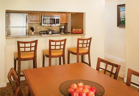 Marriott''S Streamside At Vail-Douglas Hotel - Villa Dining Room   Kitchen