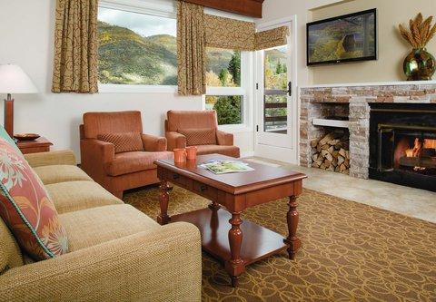 Marriott''S Streamside At Vail-Douglas Hotel - Villa Living Room