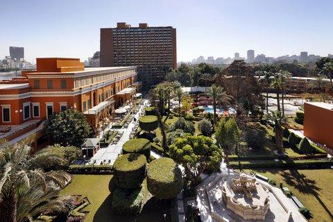 فندق ماريوت القاهرة و كازينو عمر الخيام - Garden Promenade Panoramic View