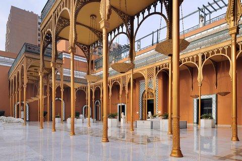 فندق ماريوت القاهرة و كازينو عمر الخيام - Entrance With Pillars Horizontal