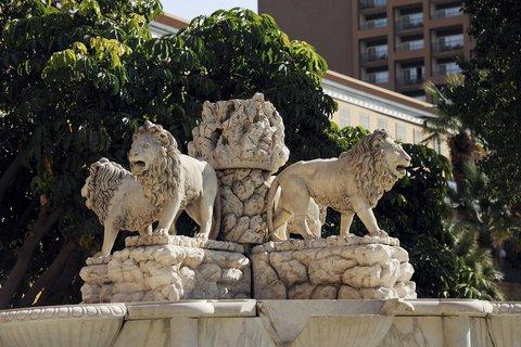 فندق ماريوت القاهرة و كازينو عمر الخيام - Lions Founatin Horizontal