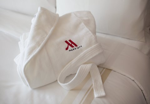 Dallas/Plano Marriott at Legacy Town Center - Concierge Amenity -  Luxurious Bath Robe