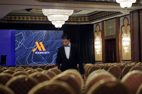 فندق ماريوت القاهرة و كازينو عمر الخيام - Aida Theatre Style With Logo