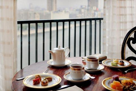 فندق ماريوت القاهرة و كازينو عمر الخيام - Morning Coffee Balcony