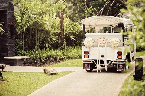 أنانتارا بوكيت ريزورت آند سبا ليان - Wedding Tuktuk
