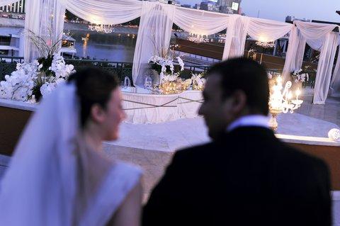 فندق ماريوت القاهرة و كازينو عمر الخيام - Almaz Wedding Horizontal Wedding With Bridegroom