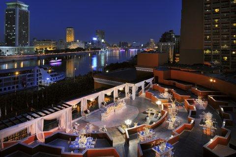 فندق ماريوت القاهرة و كازينو عمر الخيام - Almaz Night Set Up With Nile