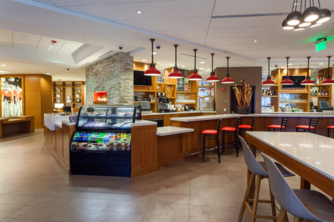 Hyatt Place Bloomington Indiana - Gallery with Starbucks Station and on-site bar