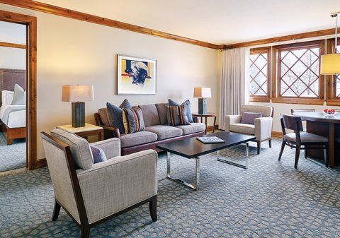 The Sebastian Vail Preferred Hotels and Resorts - Executive Two Bedroom Suite Living Room