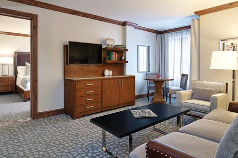 The Sebastian Vail Preferred Hotels and Resorts - Executive One Bedroom Suite Living Room