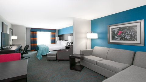Holiday Inn Express MOLINE - QUAD CITIES - Our suites are very spacious