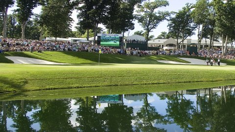 Holiday Inn Express MOLINE - QUAD CITIES - John Deere Classic 18th Hole at TPC