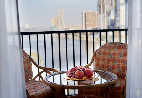 فندق ماريوت القاهرة و كازينو عمر الخيام - Deluxe Nile View Room - Balcony
