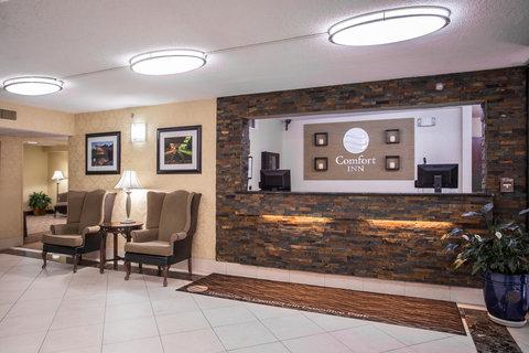 Comfort Inn Executive Park - Nc Lobby