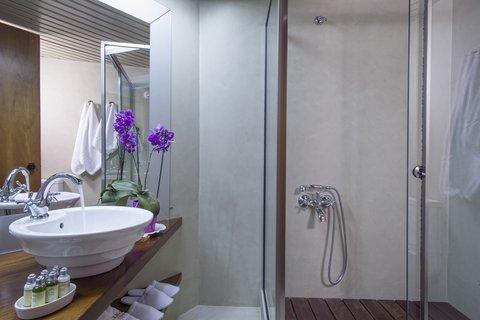 Akali Hotel Iraklion Crete - Akali Hotel Bathroom Superior room