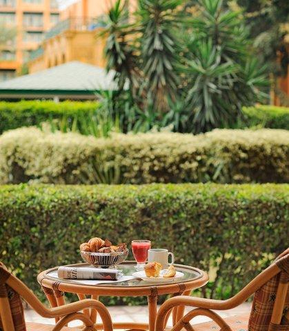 فندق ماريوت القاهرة و كازينو عمر الخيام - Ground Floor Room - Terrace