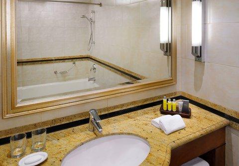 فندق ماريوت القاهرة و كازينو عمر الخيام - Deluxe Guest Bathroom